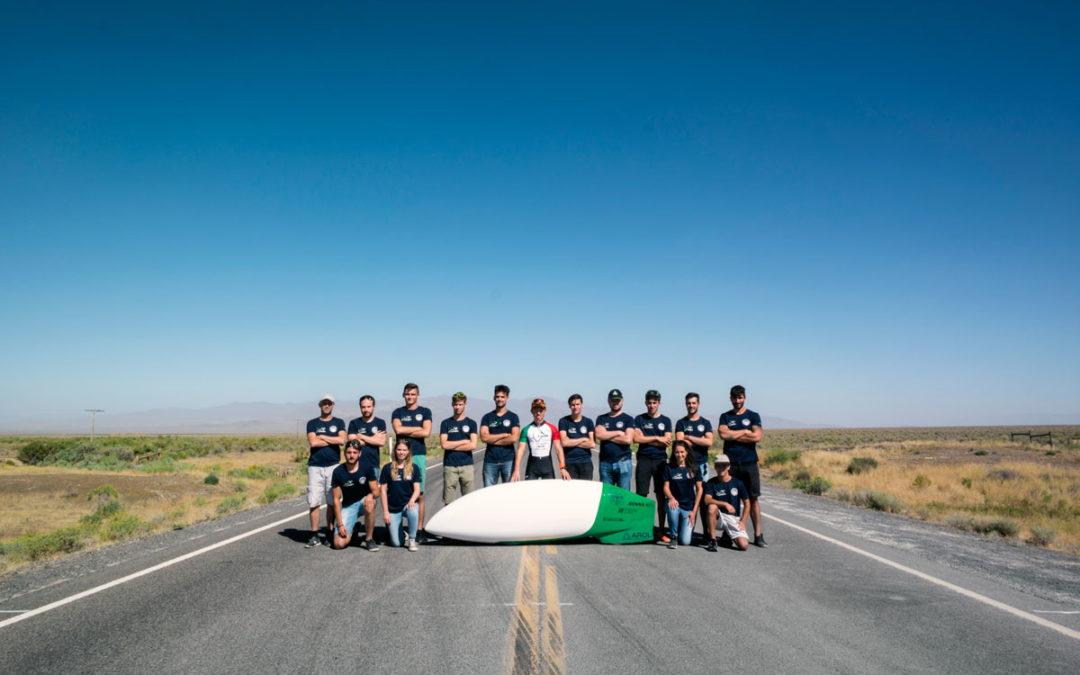 Team Policumbent 1° nella World Human Powered Speed Challenge 2018 con Taurus veicolo realizzato in collaborazione con Marcello Renna.